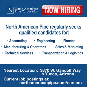 North American Pipe is Hiring