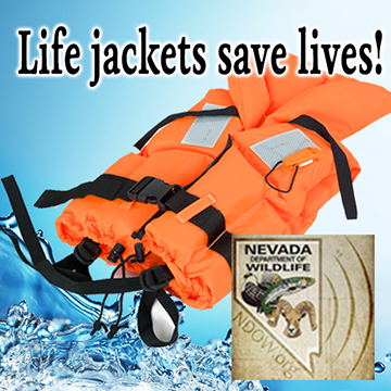 Life Jackets Save Lives - Nevada Department of Wildlife