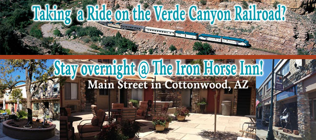Iron Horse Inn, Cottonwood, AZ