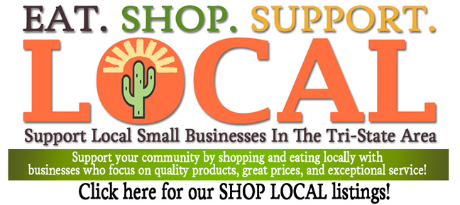Eat. Shop. Support. Local. Support Local Businesses in The Tri-State Area